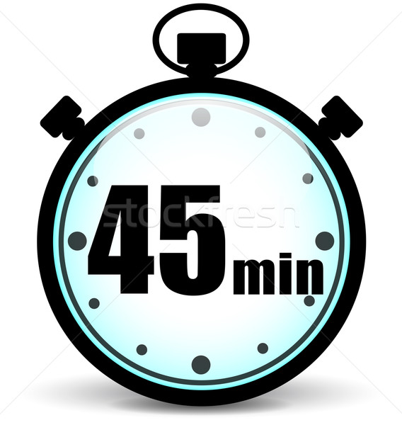 forty five minutes icon Stock photo © nickylarson974
