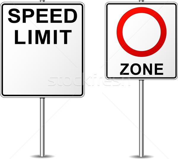 speed limit Stock photo © nickylarson974