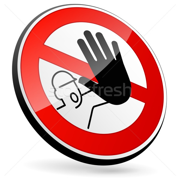 No entry sign Stock photo © nickylarson974