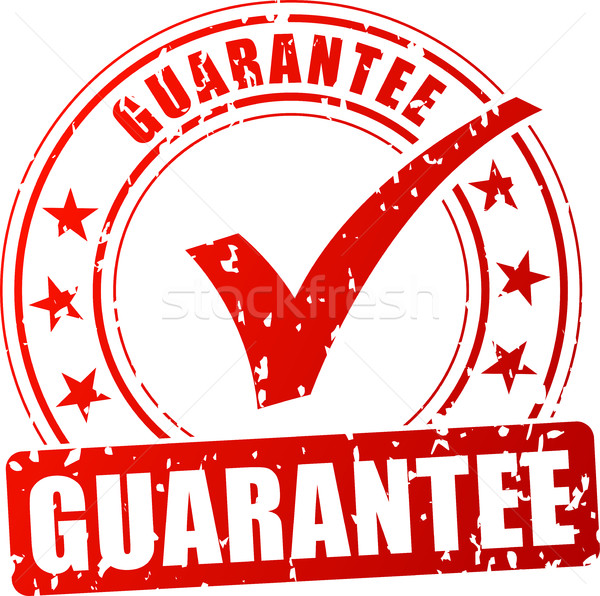 guarantee red stamp  Stock photo © nickylarson974