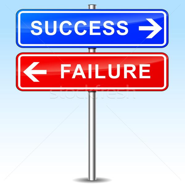 Stock photo: success or failure choice