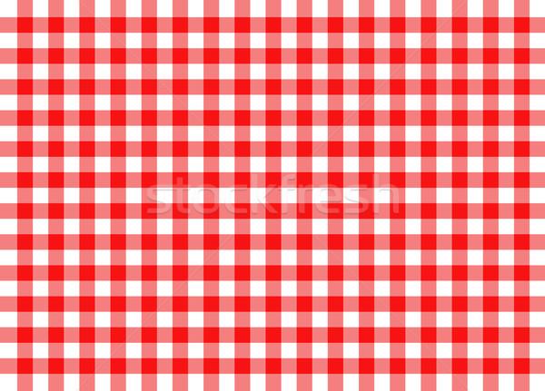 красный традиционный иллюстрация дизайна кухне ресторан Сток-фото © nickylarson974