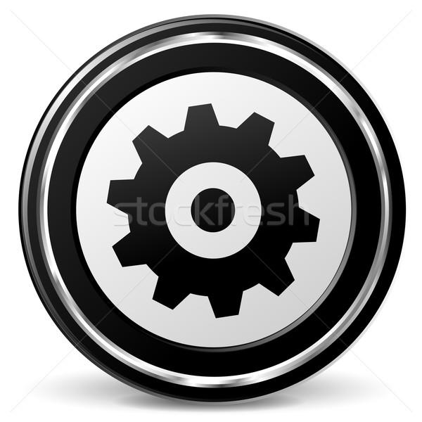 gear icon Stock photo © nickylarson974