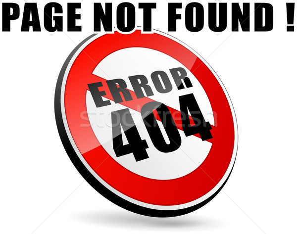 page not found Stock photo © nickylarson974