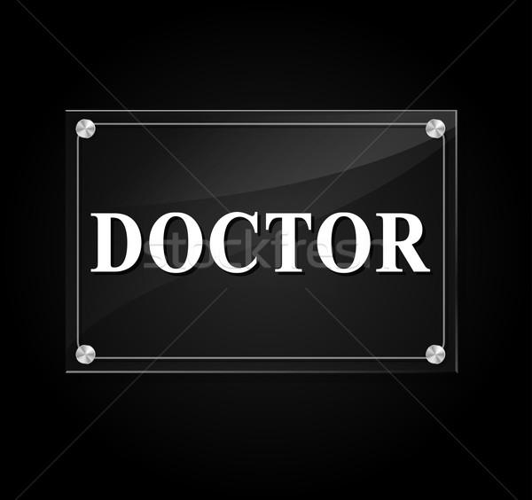 doctor sign Stock photo © nickylarson974
