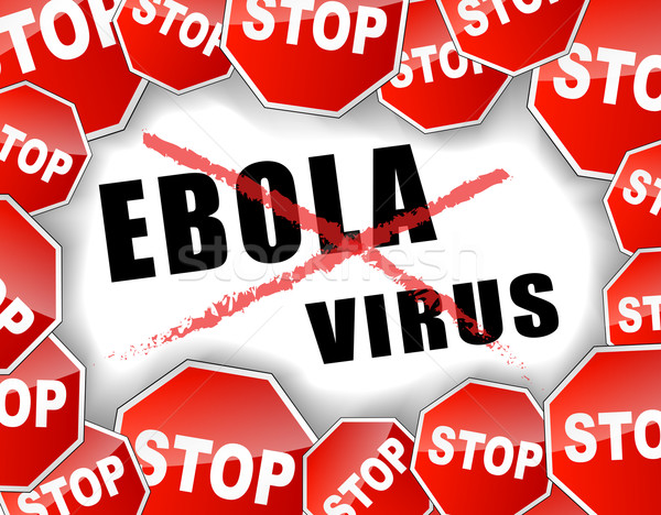 Stop ebola virus Stock photo © nickylarson974