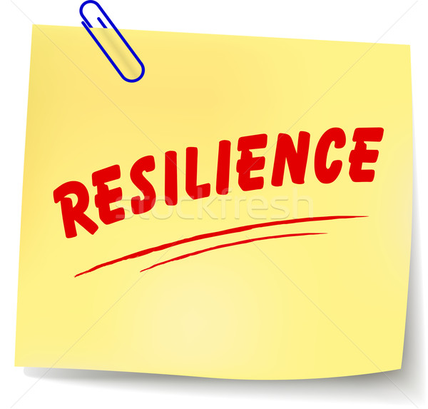 Vector resilience message Stock photo © nickylarson974