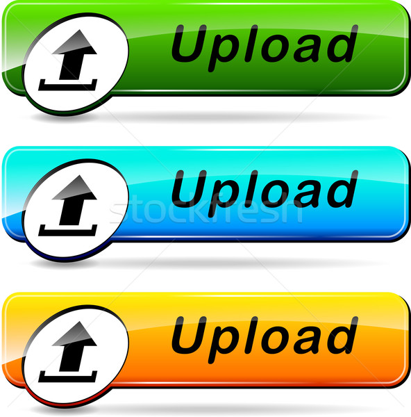 upload buttons Stock photo © nickylarson974
