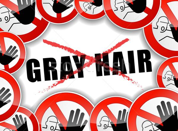 no gray hair Stock photo © nickylarson974