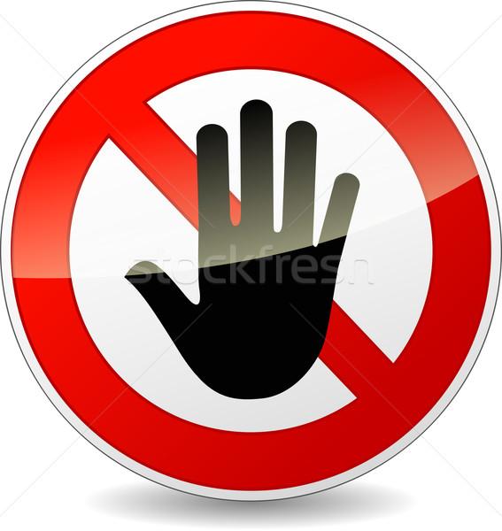 do not enter sign Stock photo © nickylarson974
