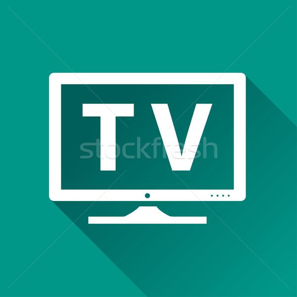 television icon design Stock photo © nickylarson974