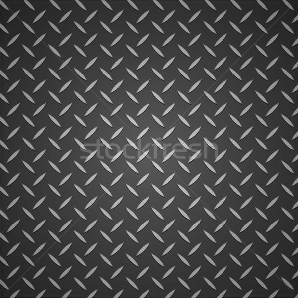 Metal ilustración gris diseno textura pared Foto stock © nickylarson974