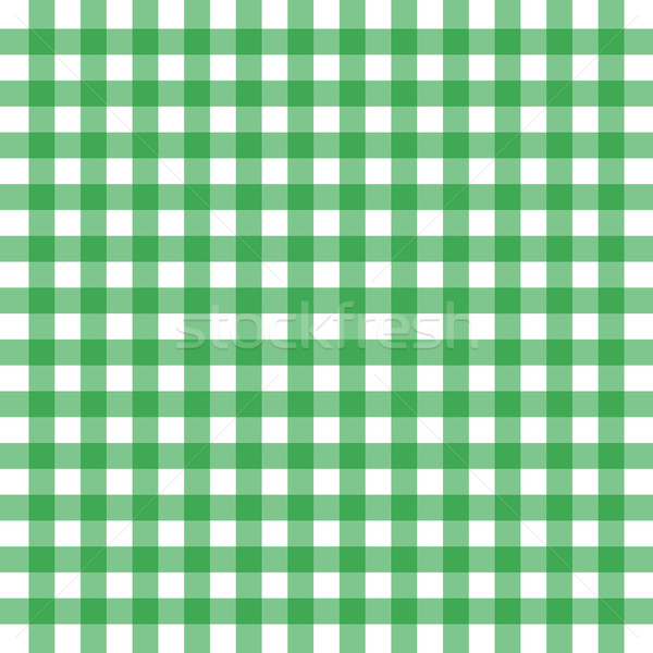 Vector green gingham Stock photo © nickylarson974
