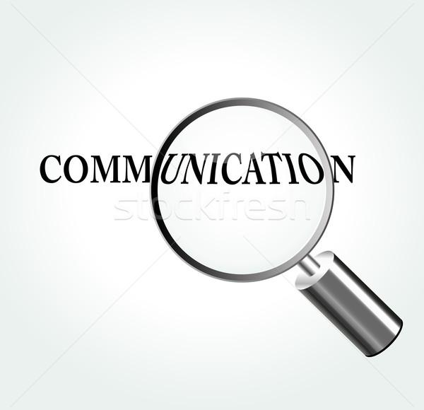 Vector communication theme illustration Stock photo © nickylarson974