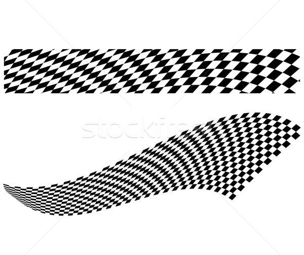 Vector checkerboard illustration Stock photo © nickylarson974
