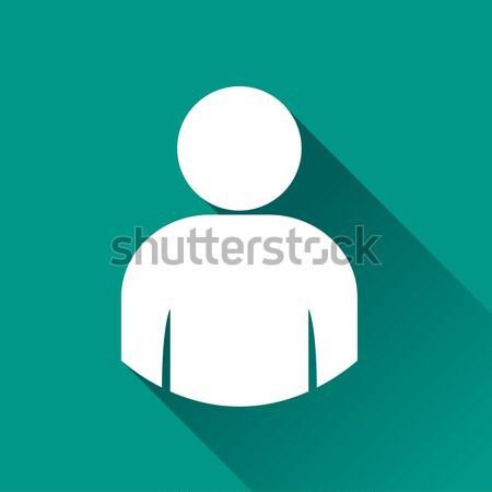 user icon design Stock photo © nickylarson974