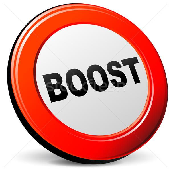 boost icon Stock photo © nickylarson974