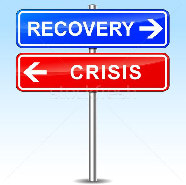 recovery or crisis choice Stock photo © nickylarson974