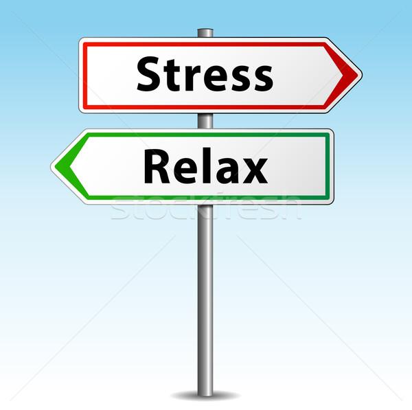 Stress or relax Stock photo © nickylarson974