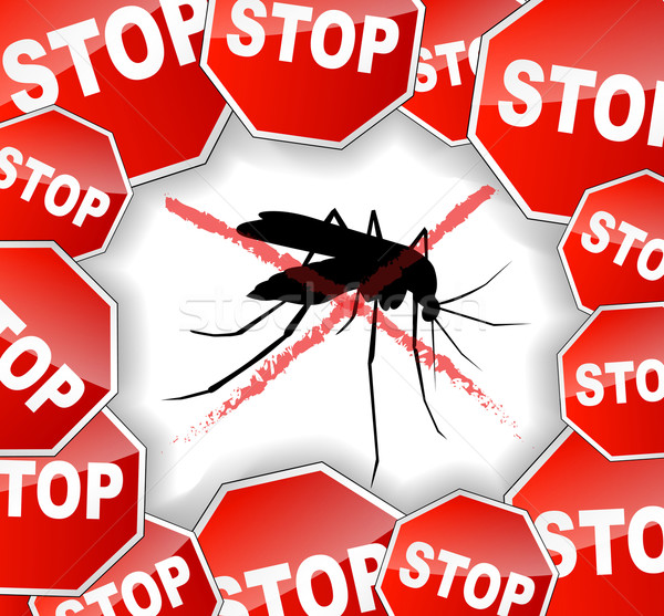 stop mosquitoes abstract concept Stock photo © nickylarson974