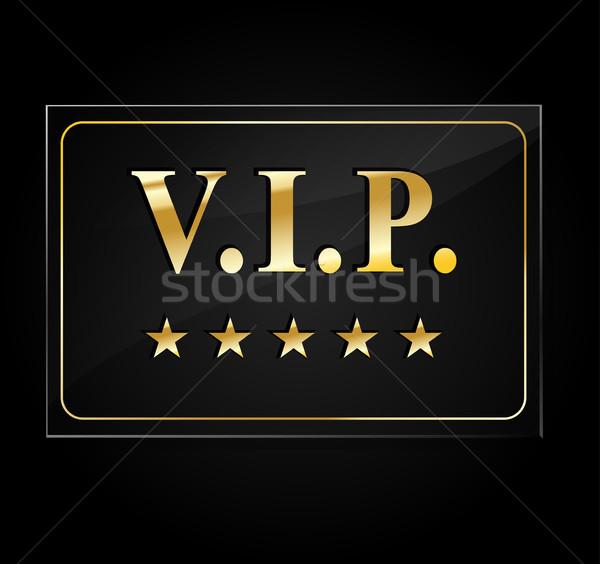 Vip 言葉 5 星 実例 デザイン ストックフォト © nickylarson974