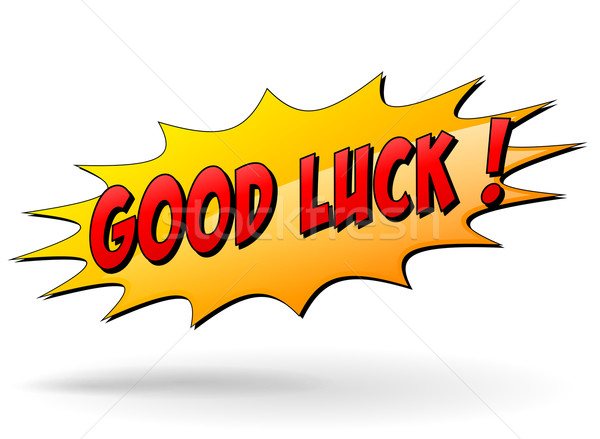 Vector good luck sign Stock photo © nickylarson974