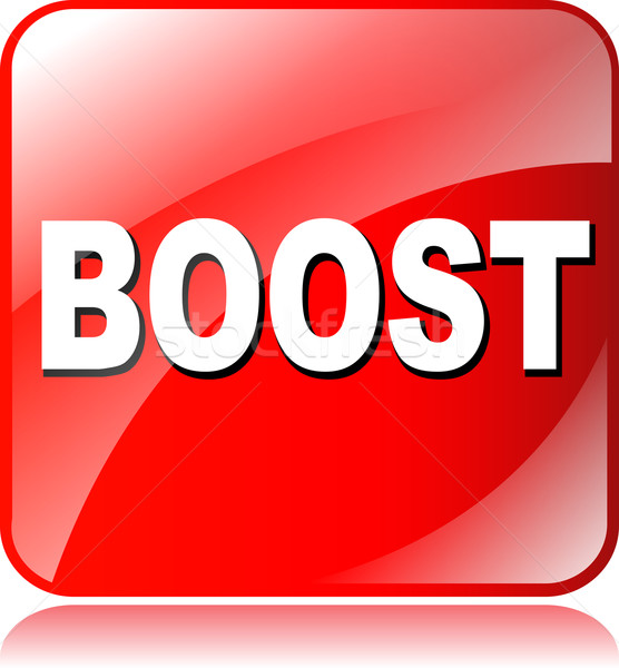 boost icon Stock photo © nickylarson974