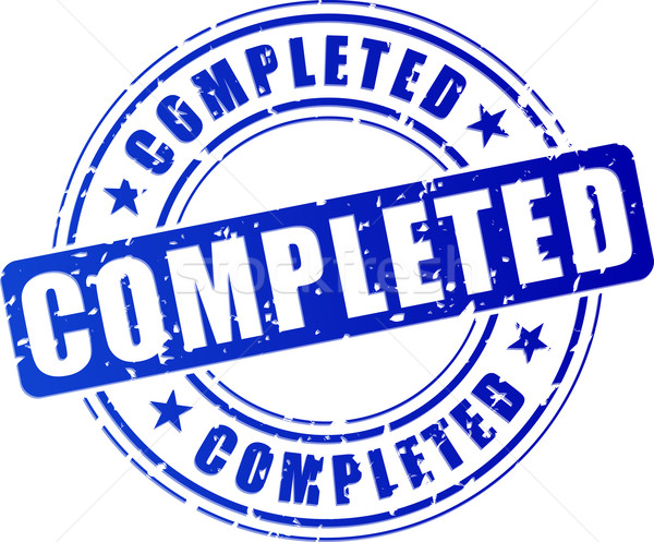 completed icon Stock photo © nickylarson974