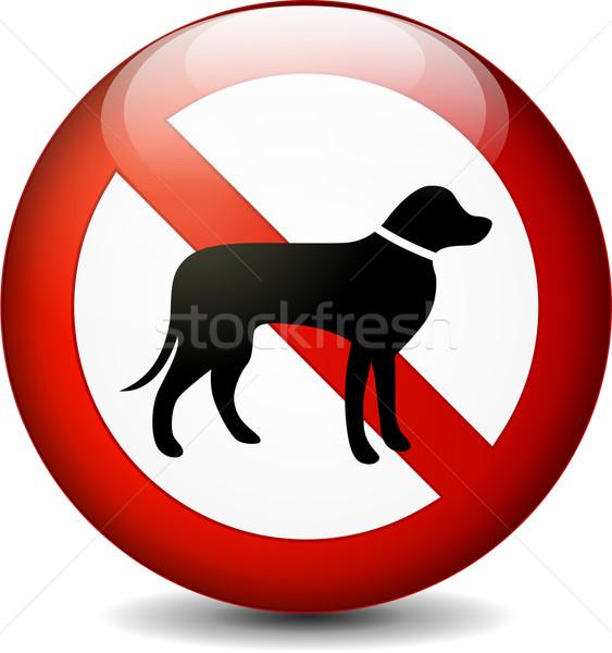 no dogs sign Stock photo © nickylarson974