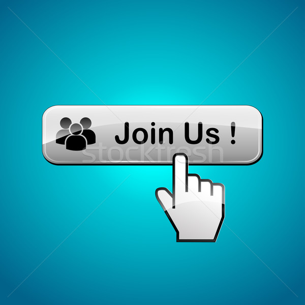join us web button Stock photo © nickylarson974