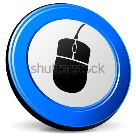 mouse 3d icon Stock photo © nickylarson974