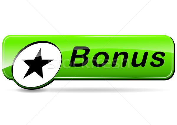 ボーナス 緑 Webデザイン ボタン 実例 ストックフォト © nickylarson974