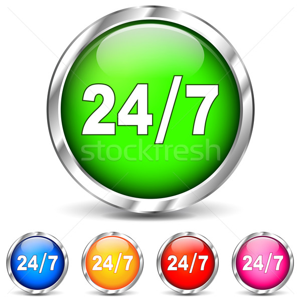 Vector 24 access icons Stock photo © nickylarson974