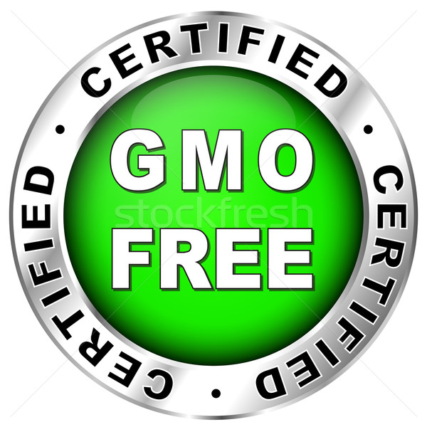 gmo free label Stock photo © nickylarson974