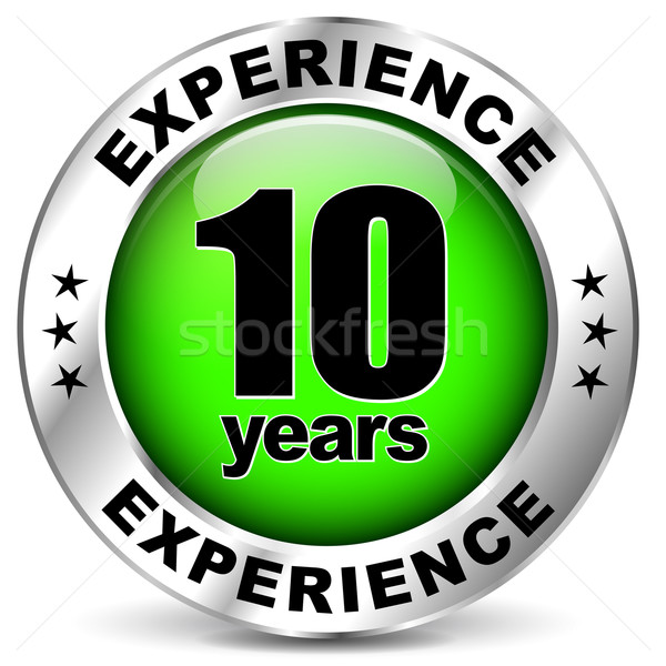 Ten years experience Stock photo © nickylarson974