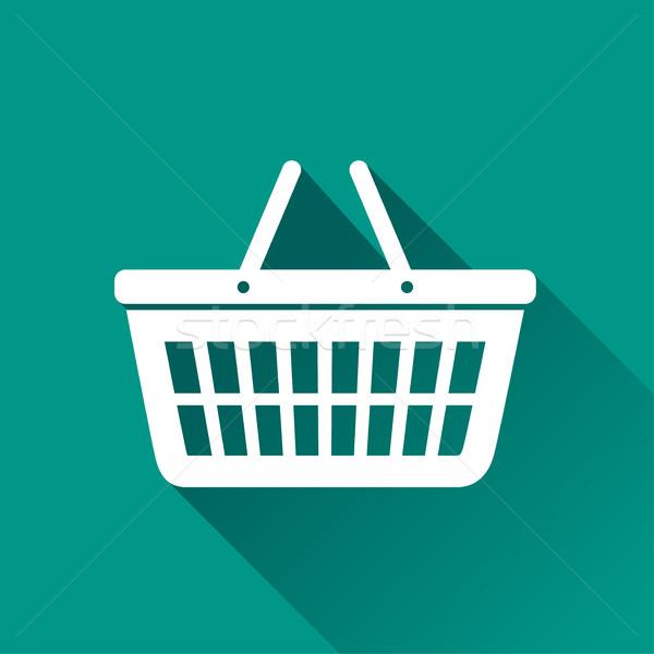 basket icon design  Stock photo © nickylarson974