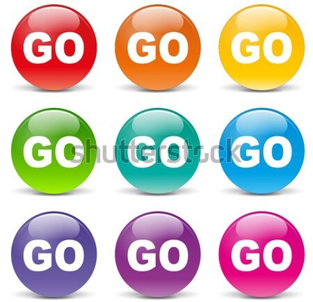 Vector css icons Stock photo © nickylarson974