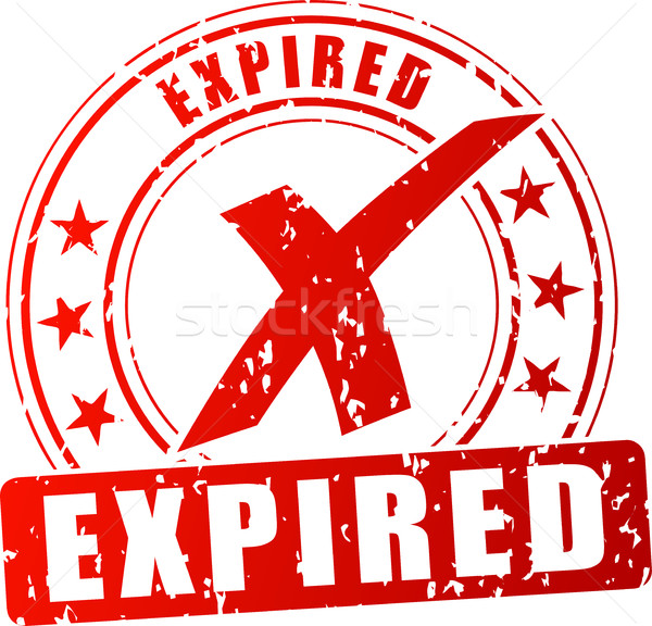expired red stamp Stock photo © nickylarson974