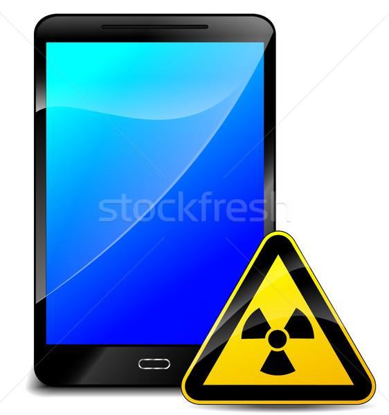 放射線 携帯電話 実例 医療 デザイン 技術 ストックフォト © nickylarson974