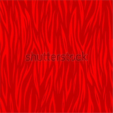 Stock photo: Vector red striped background