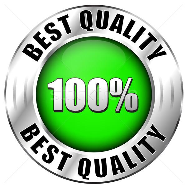 Best quality icon Stock photo © nickylarson974