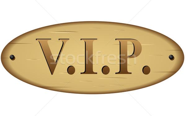 Stock photo: Vector vip sign