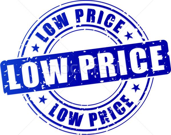 low price stamp icon Stock photo © nickylarson974