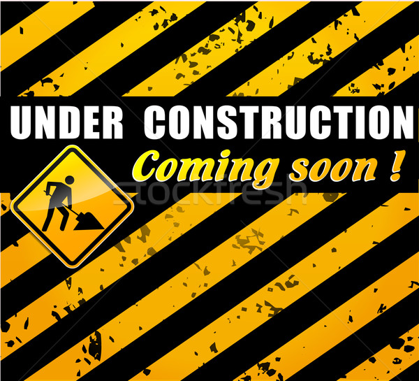 site under construction concept Stock photo © nickylarson974
