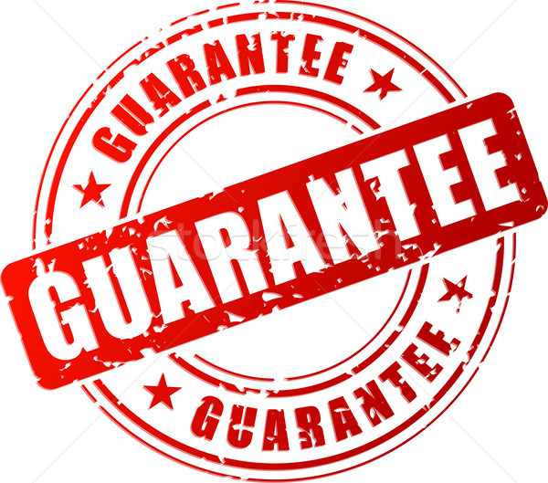 guarantee stamp icon Stock photo © nickylarson974