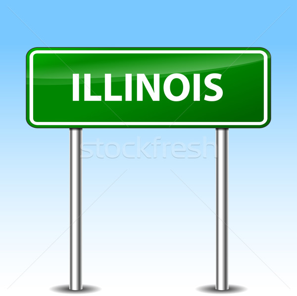 illinois sign Stock photo © nickylarson974