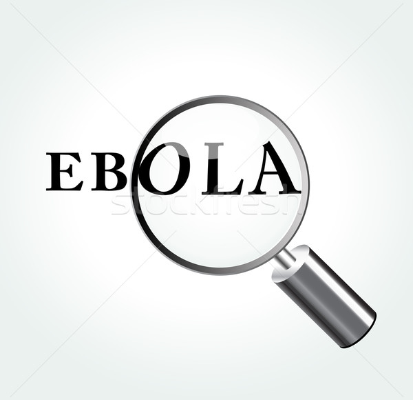 Vector ebola virus concept illustration Stock photo © nickylarson974