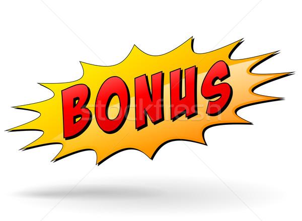 ベクトル ボーナス にログイン アイコン 白 赤 ストックフォト © nickylarson974