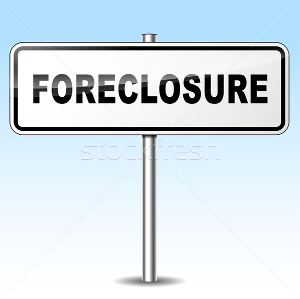 foreclosure sign Stock photo © nickylarson974