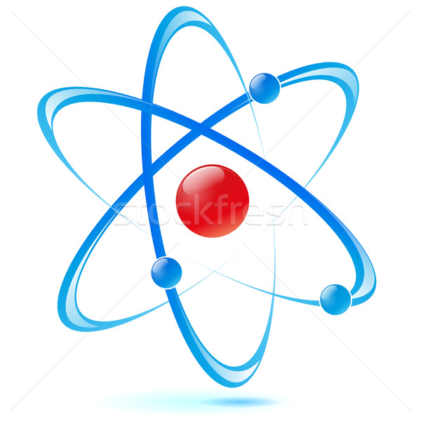 design atom Stock photo © nickylarson974